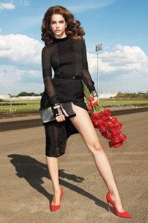 Barbara Palvin by Terry Richardson for Harper's Bazaar US September 2012