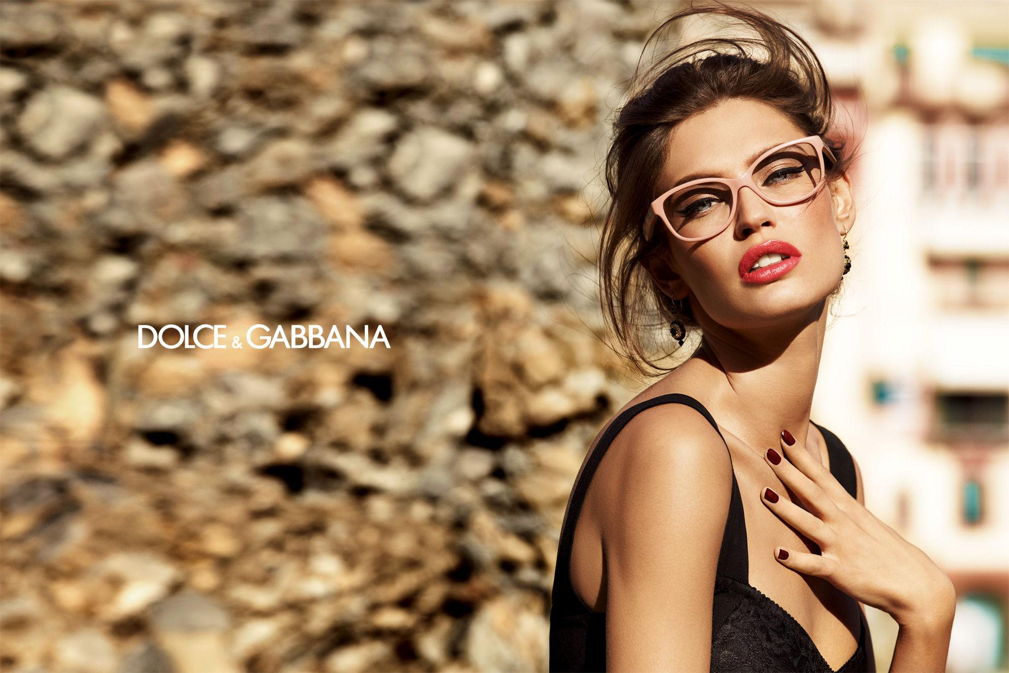Bianca Balti By  Giampaolo Sgura for Dolce & Gabbana Spring-Summer 2012